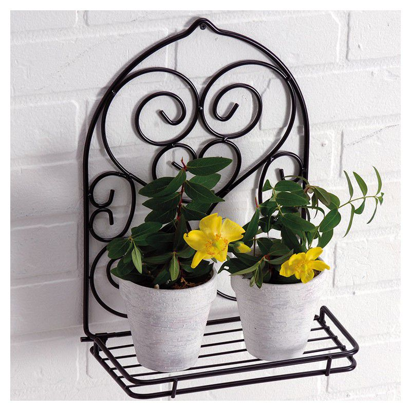 porte plantes mural plante en ligne. Black Bedroom Furniture Sets. Home Design Ideas