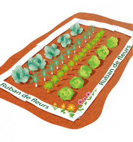 TAPIS SPECIAL PROTECTION DU POTAGER
