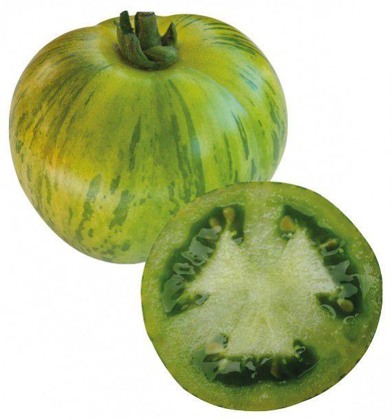 TOMATE GREEN ZEBRA GRAINES