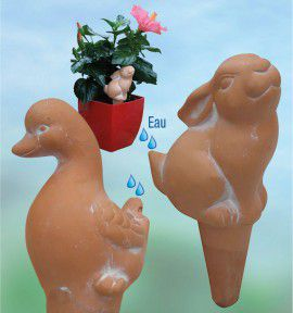 2 HUMIDIFICATEURS LAPIN ET OIE