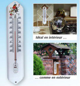 THERMOMETRE DECORATIF OISEAU